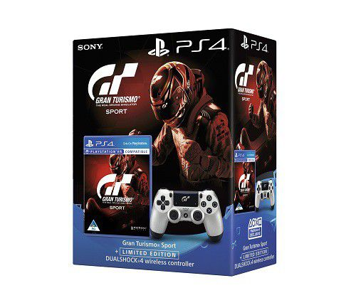 GT Sport Limited Editon PS4 Dualshock 4 Controller Game Loading Zoom
