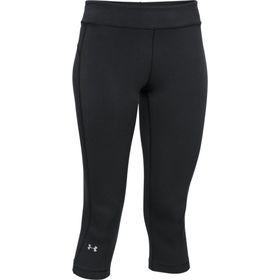 Under Armour Womens Heatgear Capri Leggings - Black