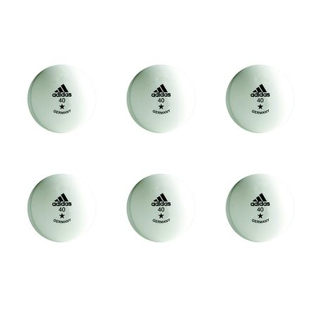 Series de tiempo Lada Elocuente  adidas Table Tennis Balls - Training 1 Star (Size: 40mm) | Buy Online in  South Africa | takealot.com