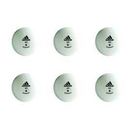 adidas Table Tennis Balls - Training 1 Star (Size: 40mm)