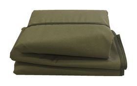 Patio Solution Covers Gas Braai Cover in Ripstop UV - Olive (Size:  M)