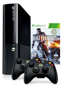 Xbox 360 500GB Console + Battlefield 4 + Extra Wireless Controller (Xbox 360)