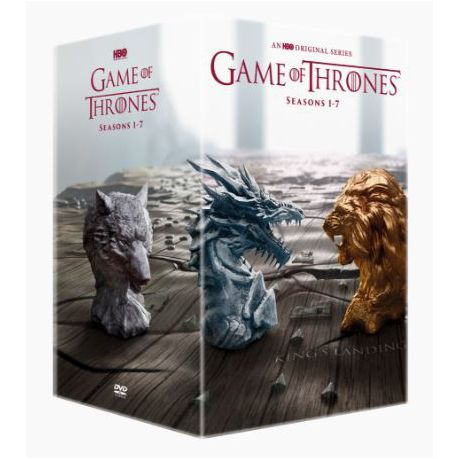 5baad89a4208e2 Game Of Thrones Season 1-7 Boxset - Includes Conquest   Rebellion (DVD)