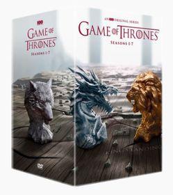 Game Of Thrones Season 1-7 Boxset - Includes Conquest & Rebellion (DVD)