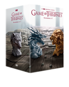 Game Of Thrones Season 1-7 Boxset - Includes Conquest & Rebellion (DVD)