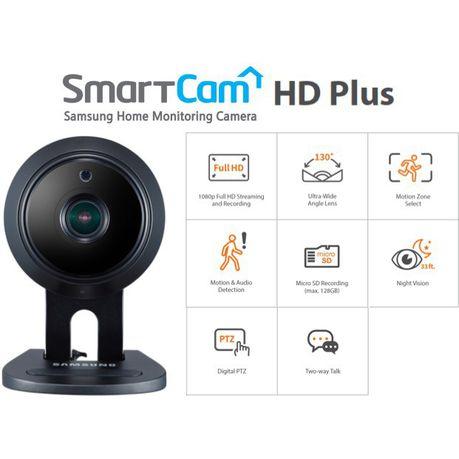 Samsung SmartCam HD Plus 1080p Wi-Fi IP Camera - Black | Buy