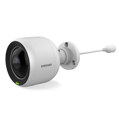 Samsung SmartCam PoE Outdoor 1080p Wi-Fi IP Camera - White | Buy