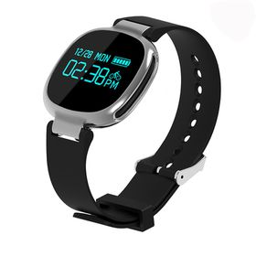 Smart Fitness Watch Dynamic Heart IP67 Waterproof - Black