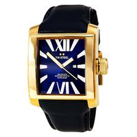 TW Steel Unisex CEO Goliath Blue Dial CE3018 Watch - Dark Blue Leather (Parallel Import)