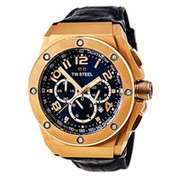 TW Steel Mens CEO Tech Chronograph CE4003 Watch - Blue Dial (Parallel Import)