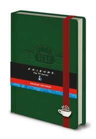 Friends: Central Perk Premium A5 Notebook (Parallel Import)