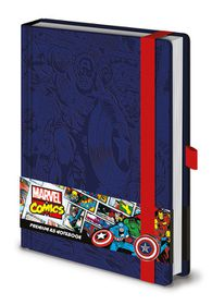 Marvel Retro: Captain America Notebook (Parallel Import)