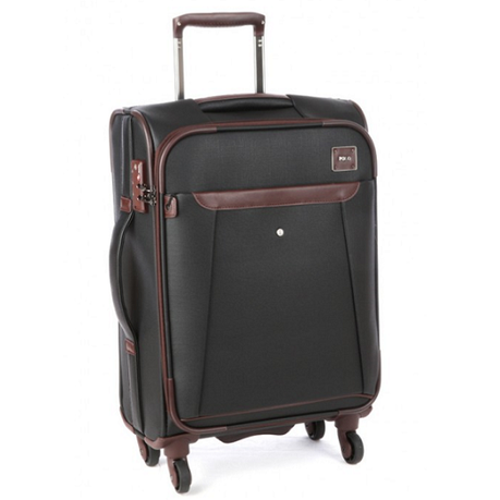 975478d78c1 Polo X Fabric Carry On Trolley Bag - Black   Buy Online in South Africa    takealot.com