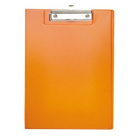meeco a4 clipboard with cover orange buy online in south