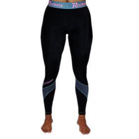 Rockets Ladies Compression Long Leggings - Black & White