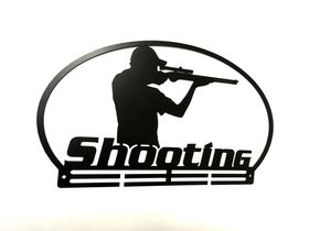 Trendyshop Shooting Medal Hanger - Black