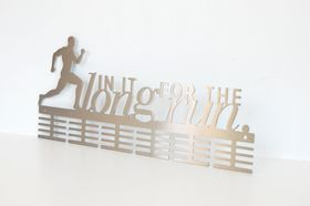 Trendyshop DC In It For The Long Run 48 Stainless Steel Medal Hanger