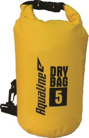 Aqualine Standard Dry Bag - Yellow (Size: 5L)