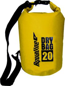 Aqualine Standard Dry Bag - Yellow (Size: 20L)