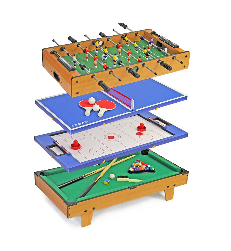 Jeronimo 4 In 1 Game Table