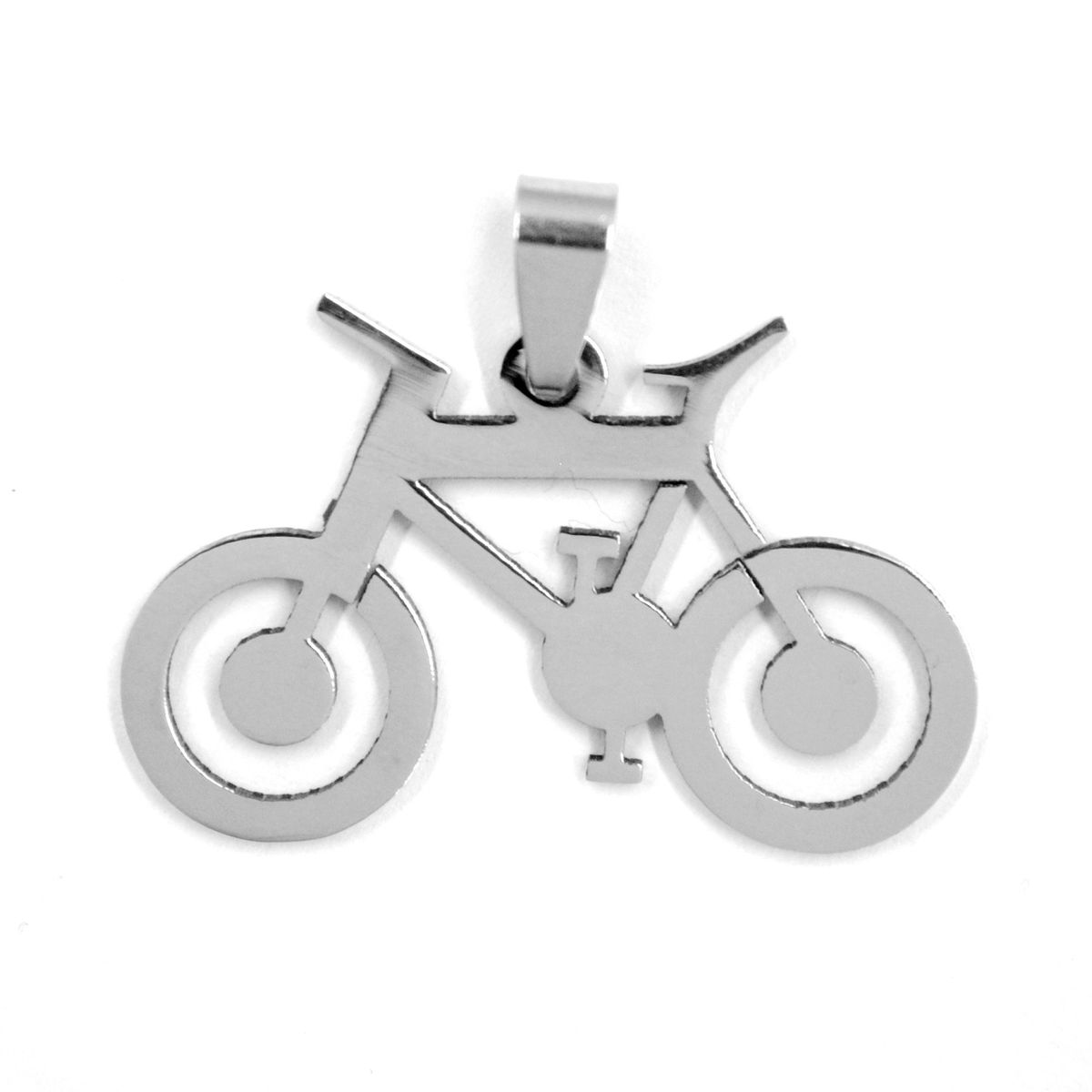 Xcalibur stainless steel bicycle pendant on chain buy online in xcalibur stainless steel bicycle pendant on chain aloadofball Image collections