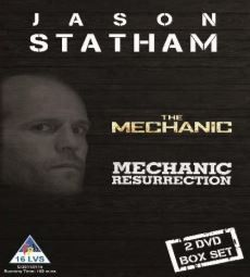 Jason Statham - The Mechanic & Mechanic Resurrection (DVD)