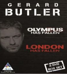 Gerard Butler - Olympus Has Fallen & London Has Fallen (DVD)