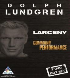 Dolph Lundgren - Larceny & Command Performance (DVD)