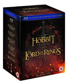 Middle Earth - Six Film Collection Extended Edition (Parallel Import - Blu-Ray)