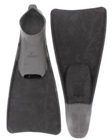 Aqualine Swim Fins - Grey (Size: 13-15)