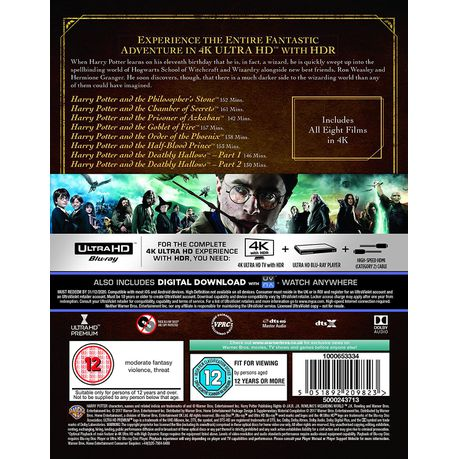 Harry Potter: The Complete 8-film Collection(Blu-ray)