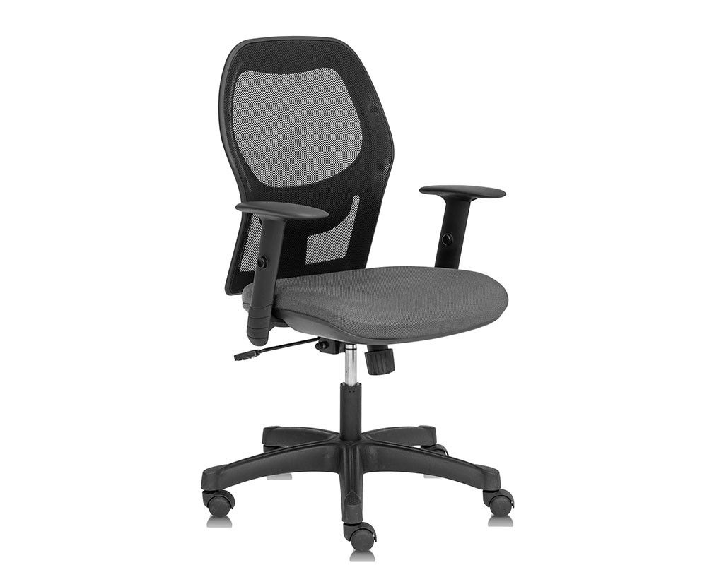 Cassie Operators Office Chair Stone Grey