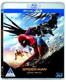 Spider-man: Homecoming (3D + 2D Blu-ray)
