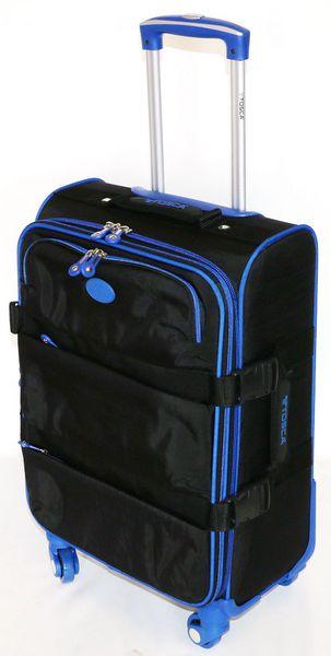 Tosca Navigator 50cm Cabin Case - Black & Blue