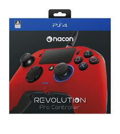 Nacon Revolution Pro Gaming Controller Red (PS4)