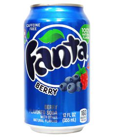 Fanta Berry Drinks - 12 x 355ml Cans