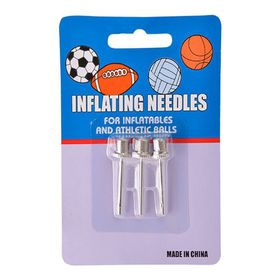 Bulk Pack of 15x Ball Pump Needles (3 Piece)