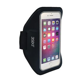 "3Sixt Sports Armband for 5"" Smartphone - Black"