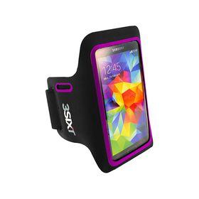"3Sixt Sports Armband for 5"" Smartphone - Purple"