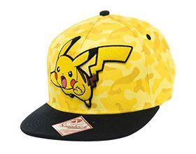 Pokemon: Snapback Pikachu Cap