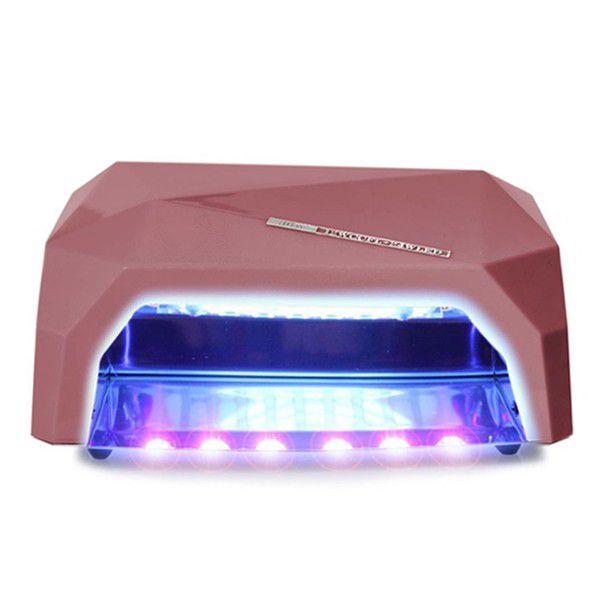 Nordik Beauty Nail Dryer Uv Led Lamp - Metallic Dusty Pink | Buy ...