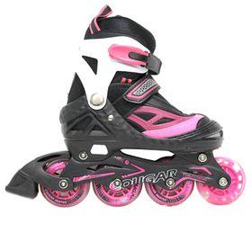 Pro Stars Inline Skates - Pink (Size: 1-4)