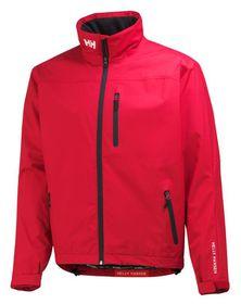 Helly Hansen Crew Midlayer Waterproof Lifestyle Jacket - Red
