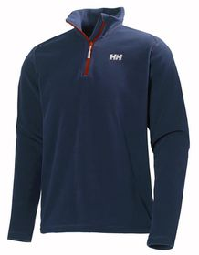 Helly Hansen Daybreaker 1/2 Zip Fleece Midlayer Pullover - Evening Blue