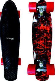 Surge Manic Icon Skateboard - Black