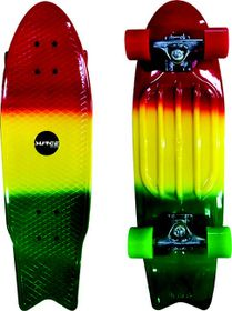 Surge Manic Fishtail Skateboard - Green