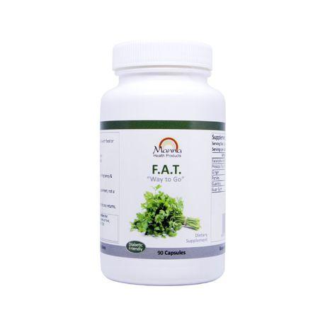 Manna Health Natural Fat Burner Weight Loss Supplement