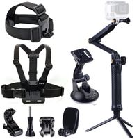 Smatree 9-in-1 Go Pro Accessories Kit for HD Hero