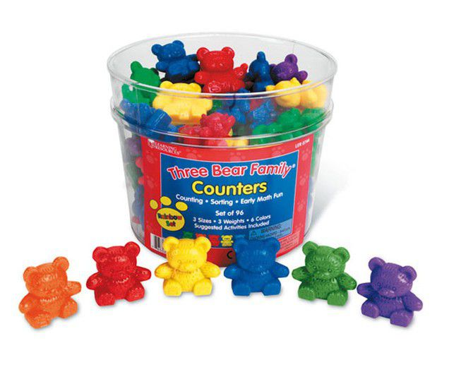 Counting Bears w/Cups Educational Products | Eureka School