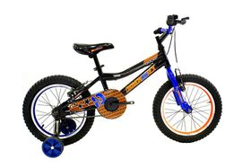 Boys Diamond Back 16-Inch Viper Mountain Bike - Black/Blue